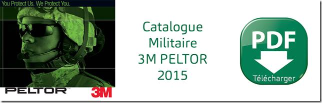 3M PELTOR - Protections communicantes militaire